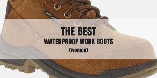 Waterproof Work Boots for Women